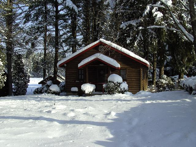 Winter Lodging on the Warren County Snowmobile Trail